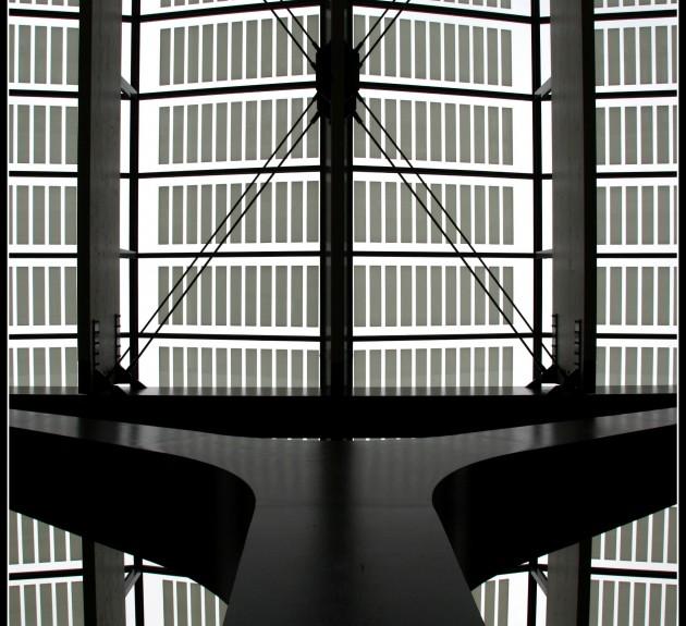 Dakconstructie Centraal Station Rotterdam