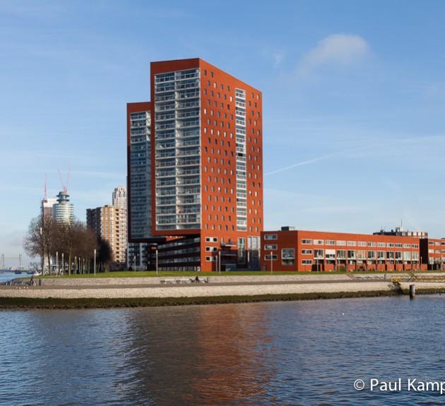 Nieuwbouw op Katendrecht Rotterdam