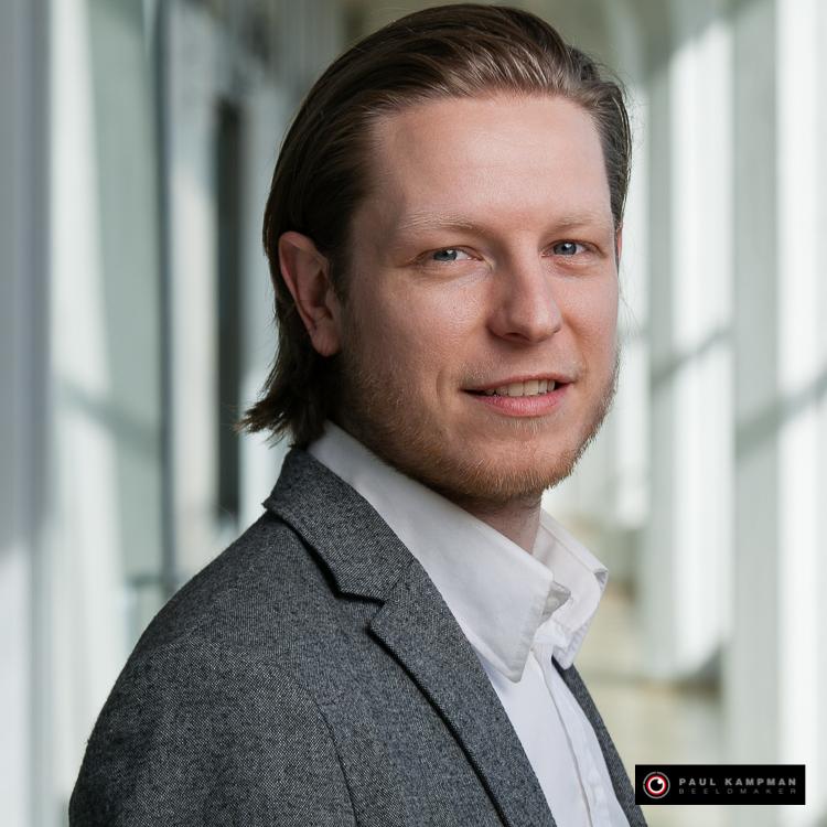 Profielfoto Edwin de Haas, producent bij Creatieve Koppen