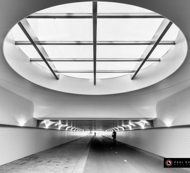 Fietstunnel Rotterdam Centraal