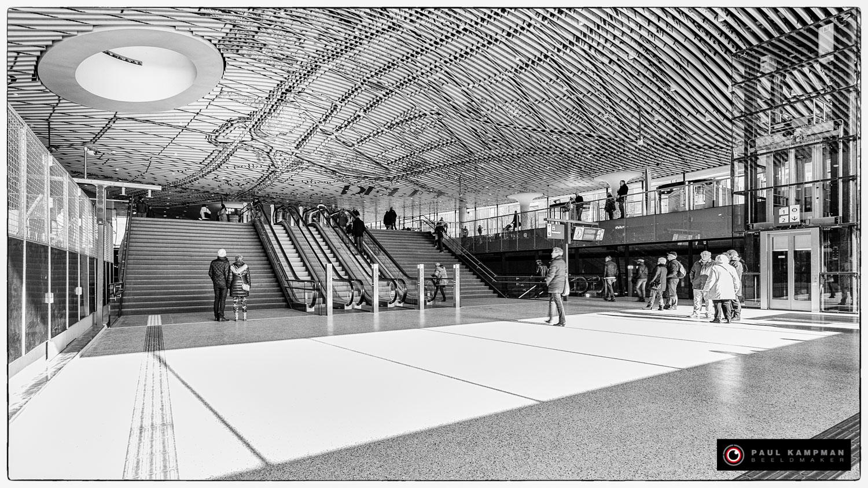 Nieuw Station Delft. Ontwerp: Mecanoo Architecten Delft